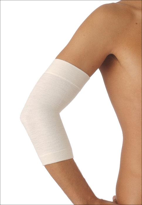 Согревающий бандаж для локтевого сустава с шерстью